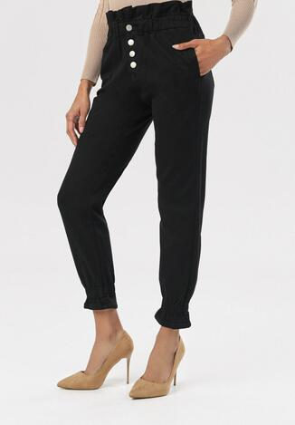 Czarne Spodnie Kallinope