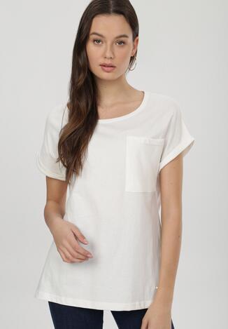 Beżowy T-shirt Cedargrove