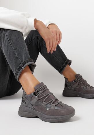 Szare Sneakersy Genereida