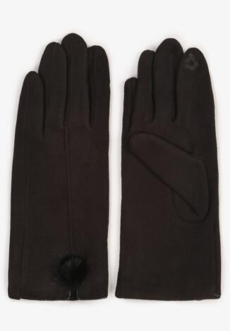 Czarne Rękawiczki Norkaen