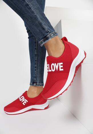 Czerwone Sneakersy Aeleolane