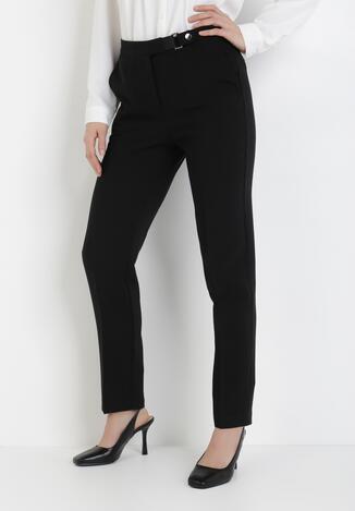 Czarne Spodnie Phepeia