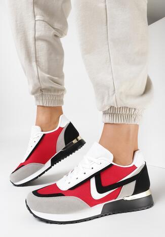 Czerwone Sneakersy Lametai