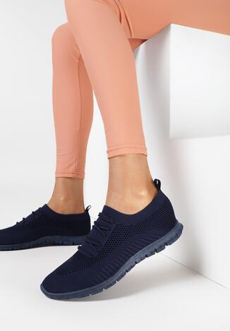 Granatowe Buty Sportowe Prisedice