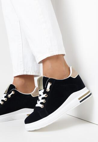 Granatowe Sneakersy Chasea