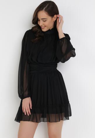 Czarna Sukienka Aelixera
