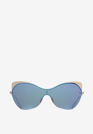 Granatowe Okulary Phalose