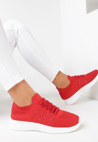 Czerwone Buty Sportowe Risvia