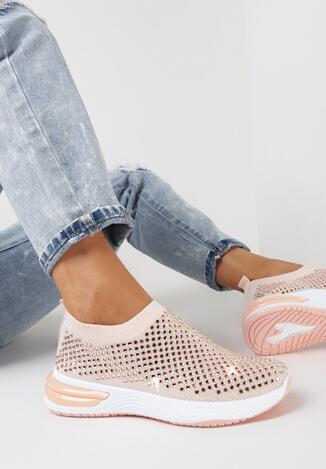 Różowe Buty Sportowe Brizvynia