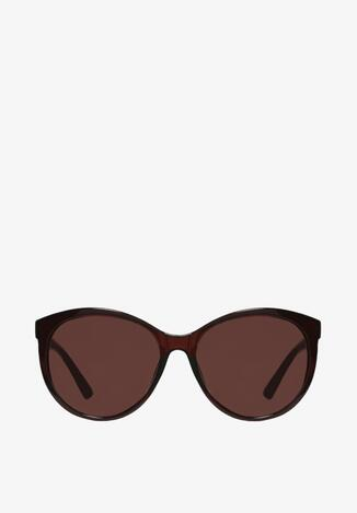 Ciemnobrązowe Okulary Axiphithe