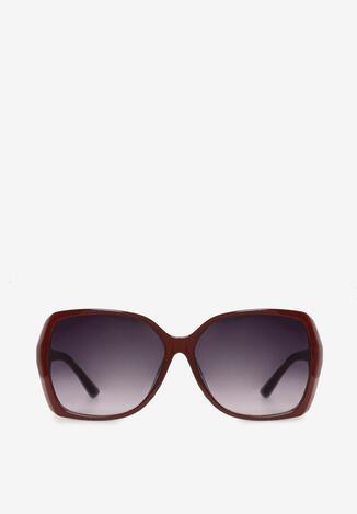 Bordowe Okulary Aethephila