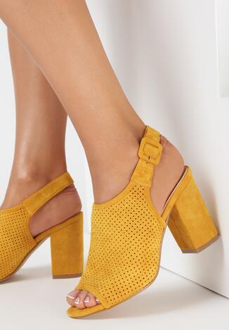 Żółte Sandały Theisessei