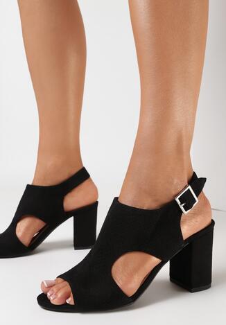 Czarne Sandały Ethemophai