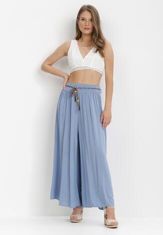 Niebieskie Spodnie Samusi