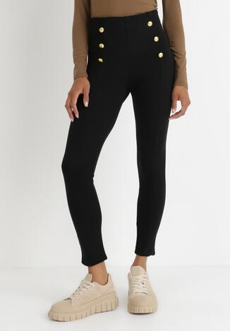 Czarne Spodnie Qurylan