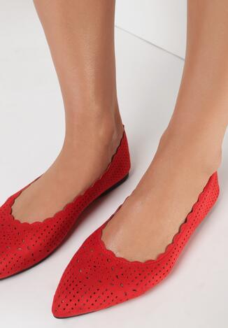 Czerwone Balerinki Pethose