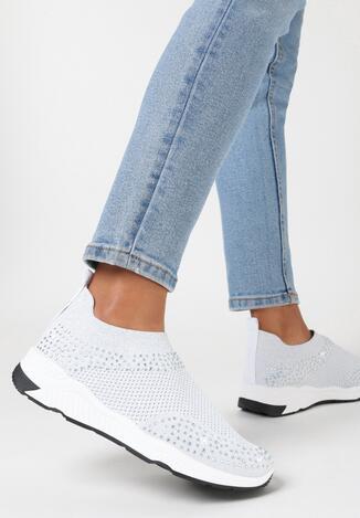Białe Buty Sportowe Daphusei