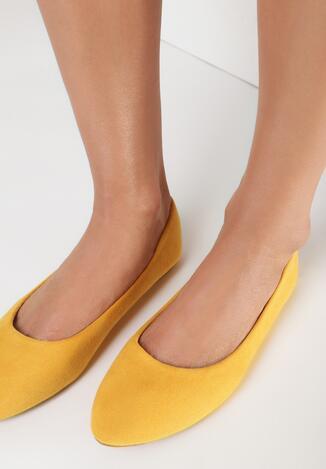 Żółte Balerinki Nyxise