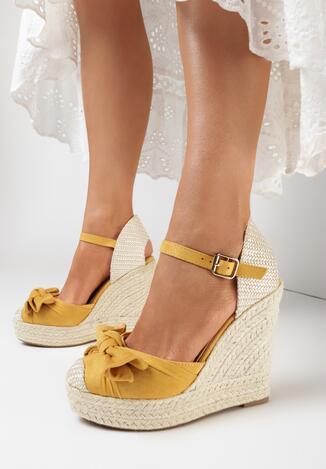 Żółte Sandały Idagoria