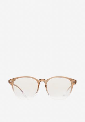 Jasnobrązowe Okulary Poreiliria