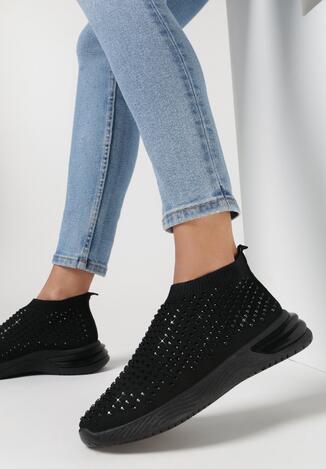 Czarne Buty Sportowe Daeiris