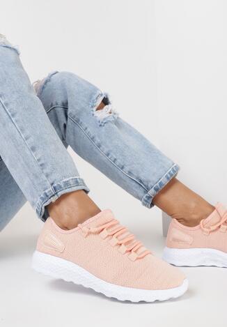Różowe Sneakersy Allulina