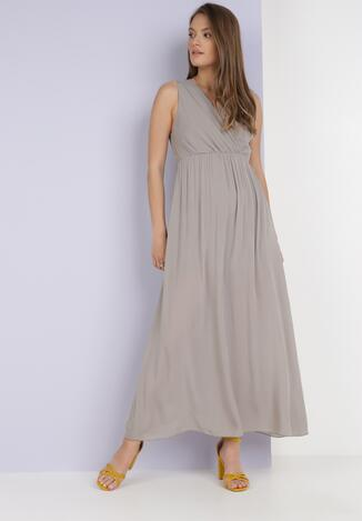Beżowa Sukienka Phridoe