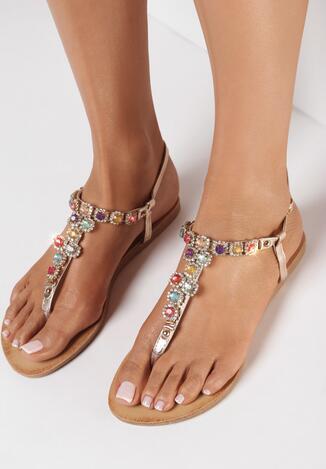 Szampańskie Sandały Mazhola