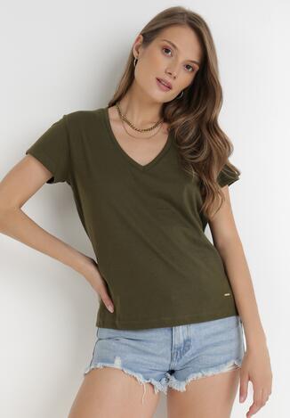 Khaki T-shirt Leucelsa