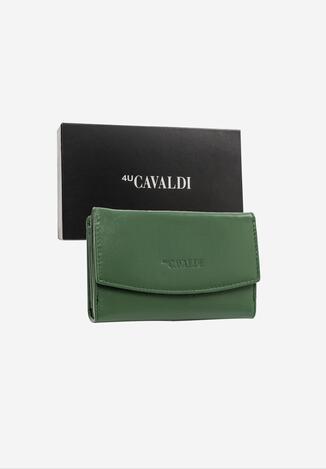 Zielony Skórzany Portfel Cavaldi Cecrios