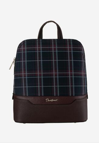 Ciemnobordowy Plecak David Jones Iroreia