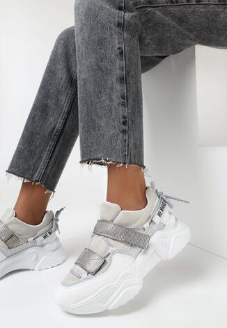 Białe Sneakersy Olivis