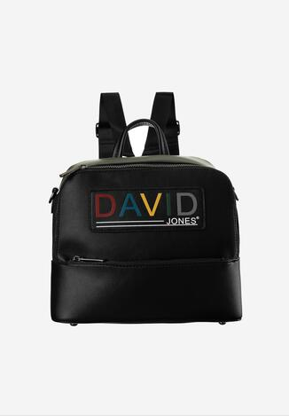 Czarno-Zielony Plecak David Jones Auxeusa