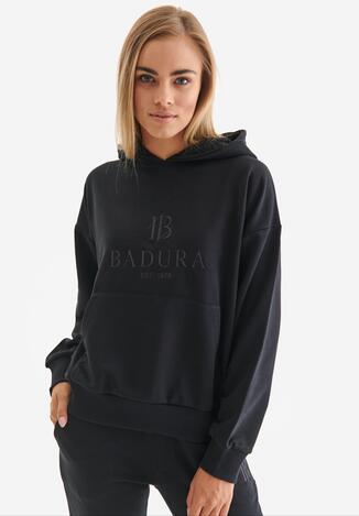 Czarna Bluza Badura Feanise