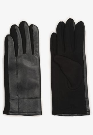 Czarne Rękawiczki Aroene