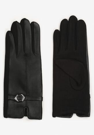 Czarne Rękawiczki Ialyth