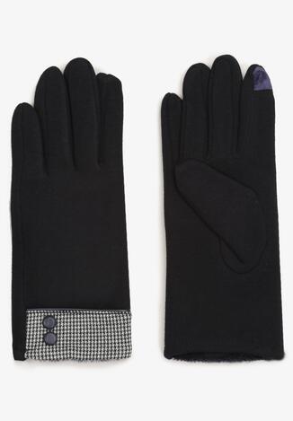 Czarne Rękawiczki Cylya