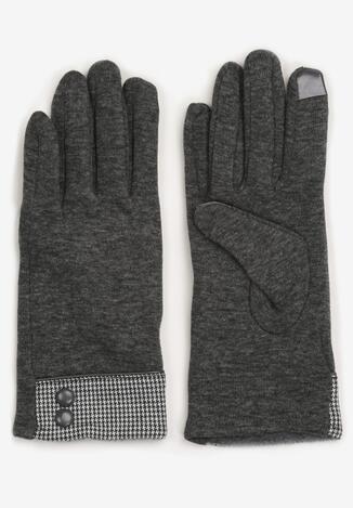 Szare Rękawiczki Cylya
