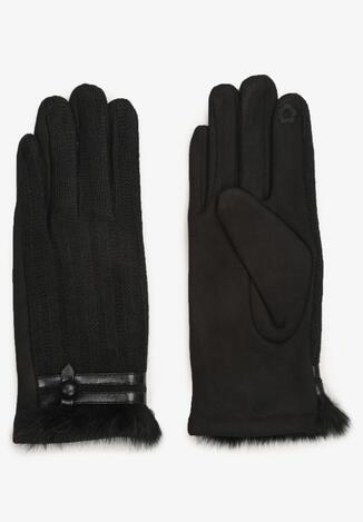 Czarne Rękawiczki Illiane