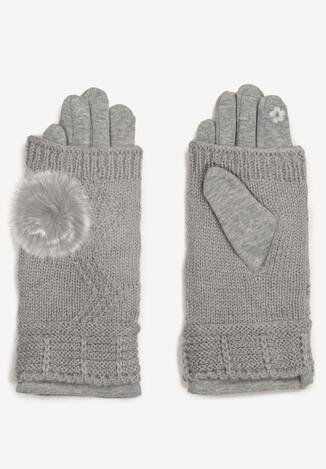 Szare Rękawiczki Cecial
