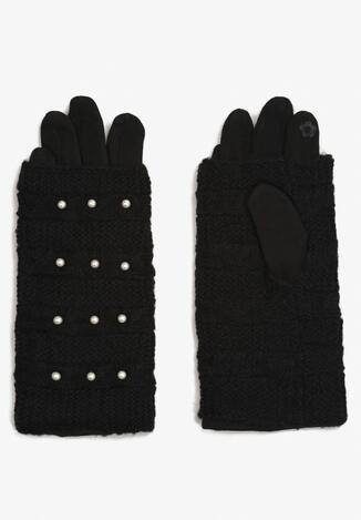 Czarne Rękawiczki Feroya