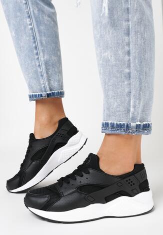 Czarne Buty Sportowe Peris
