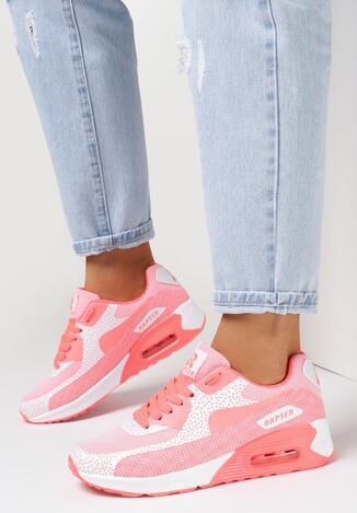 Koralowe Sneakersy Candy