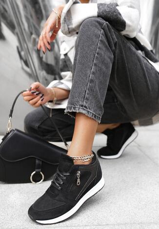 Czarne Sneakersy Every Position