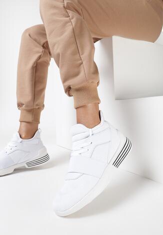 Białe Buty Sportowe Meteor Blade