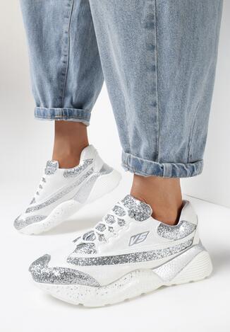 Białe Sneakersy Dauntlessly
