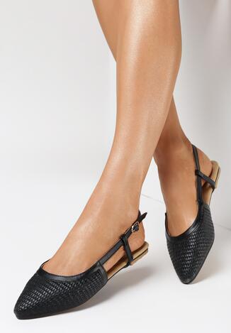 Czarne Sandały Wildest