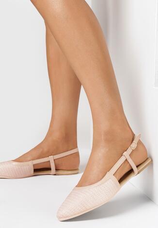 Beżowe Sandały Wildest
