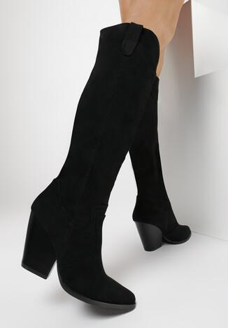 Czarne Kozaki Ruffin