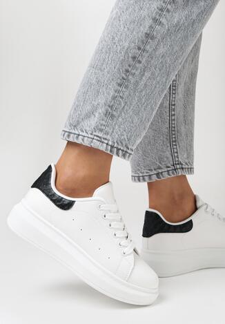 Biało-Czarne Sneakersy Hypnotic